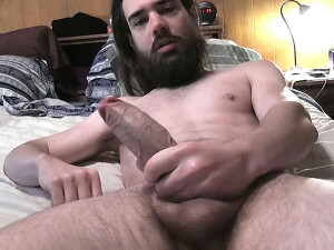 Squirting+Cum+In+His+Beard